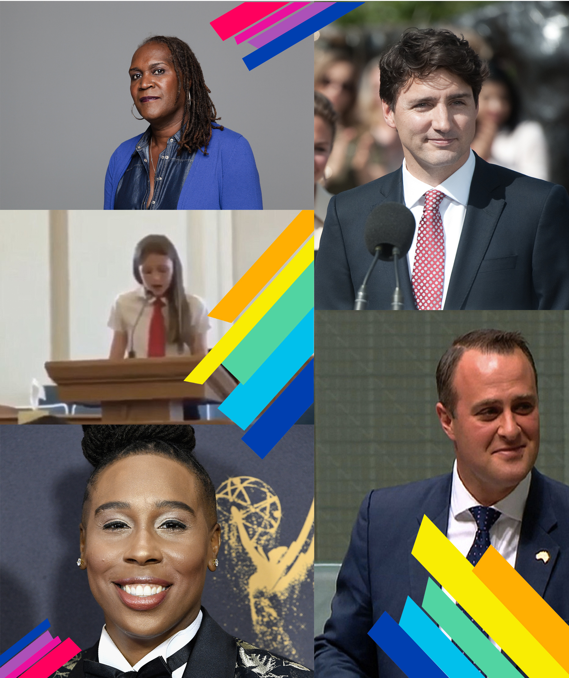 Which one of these leaders made the greatest LGBT contribution in 2017?