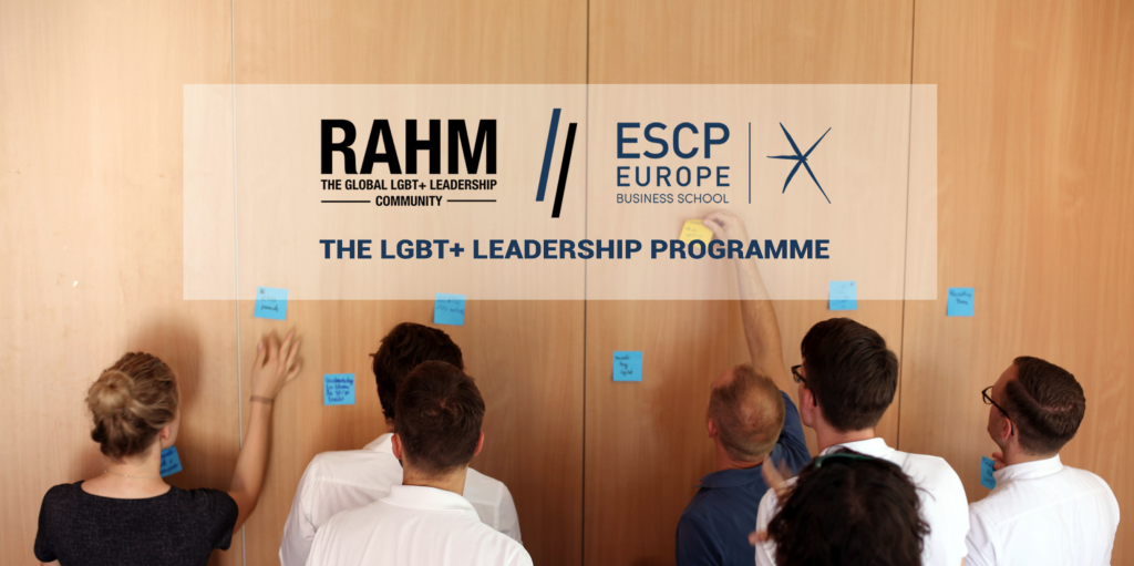 RAHM x ESCP Europe – The LGBT+ Leadership Programme