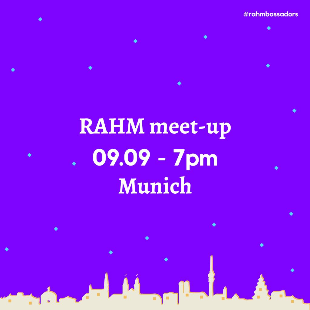 RAHM Meet-up in Munich
