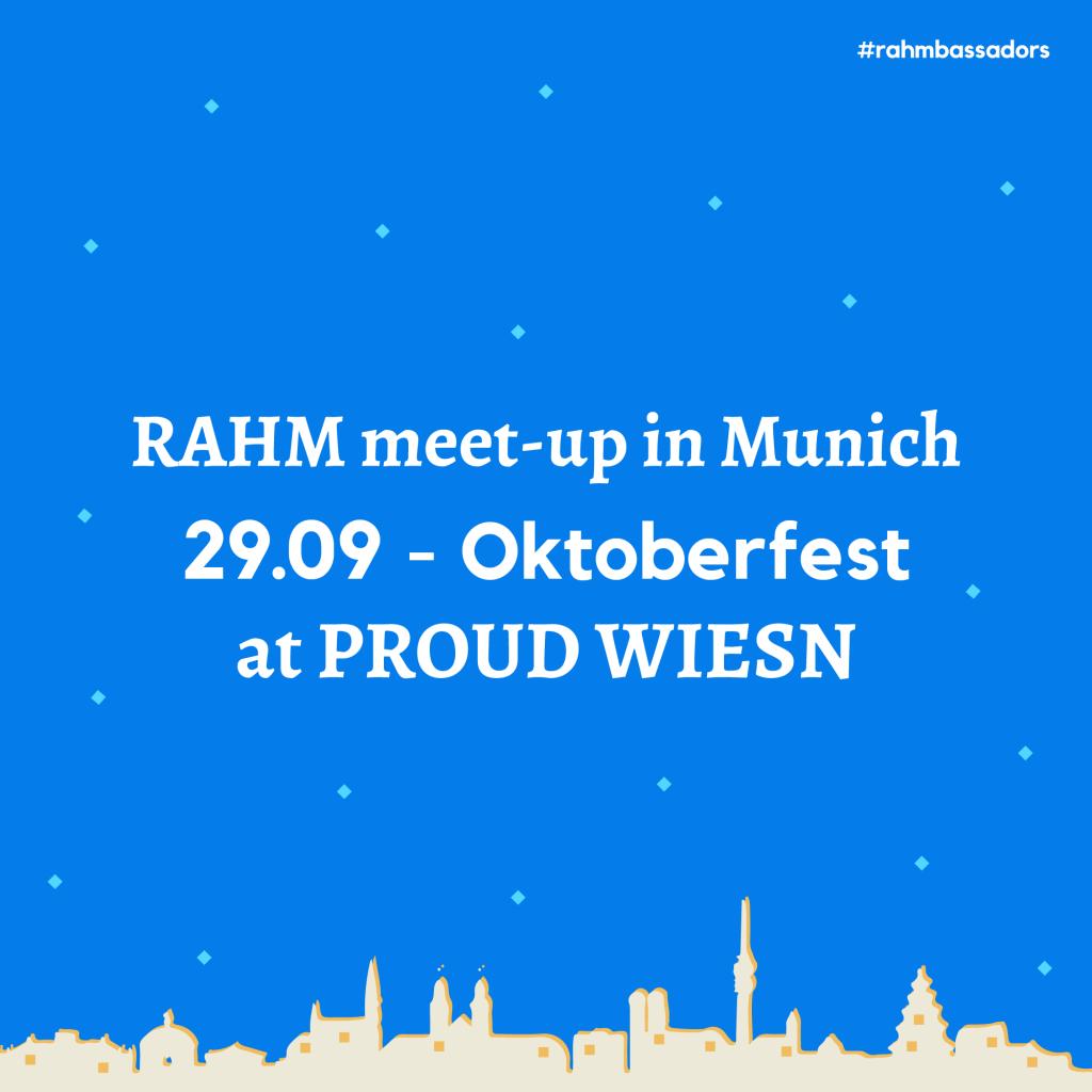 RAHM Meet-up at the Oktoberfest
