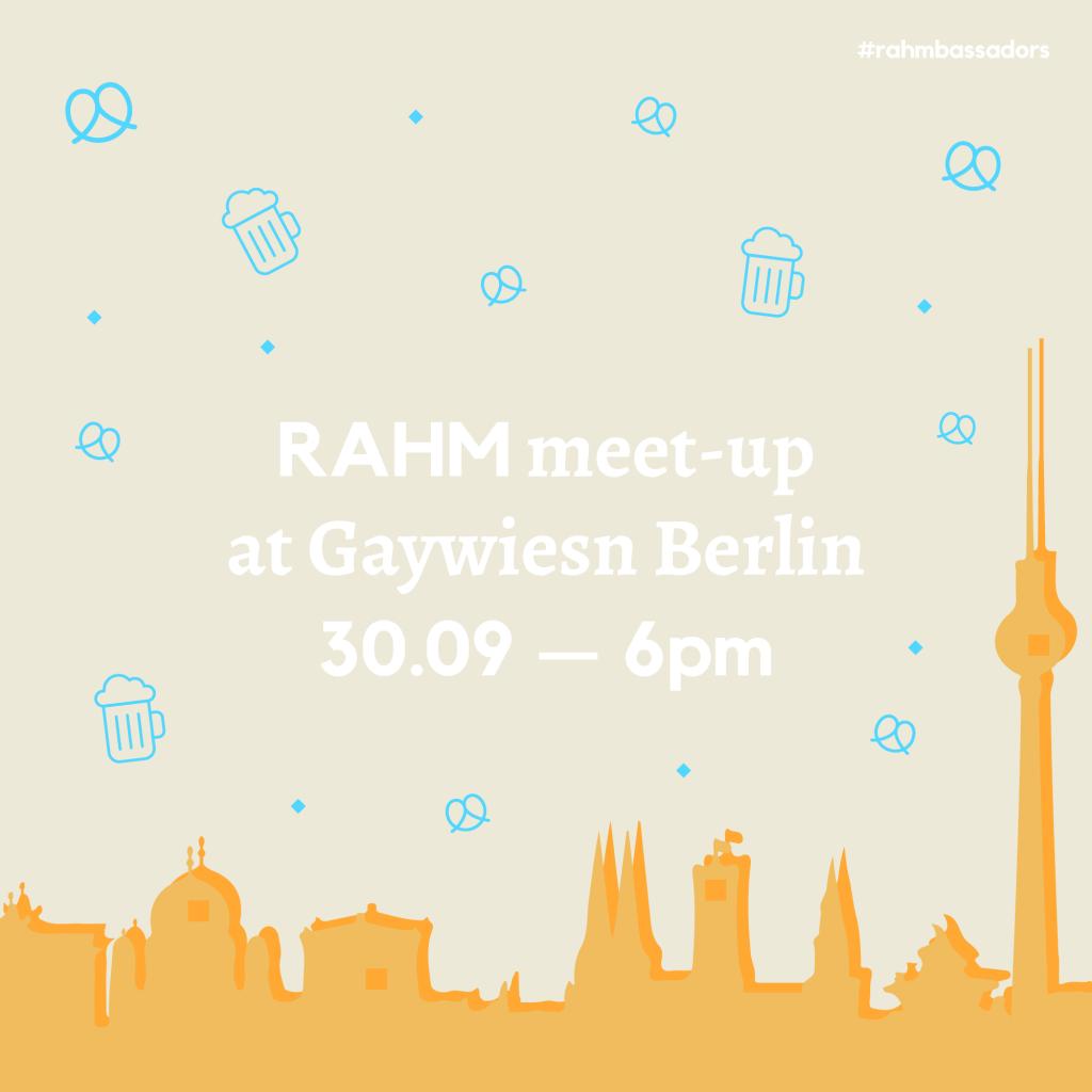 RAHM Meet-Up @ GayWiesn Berlin