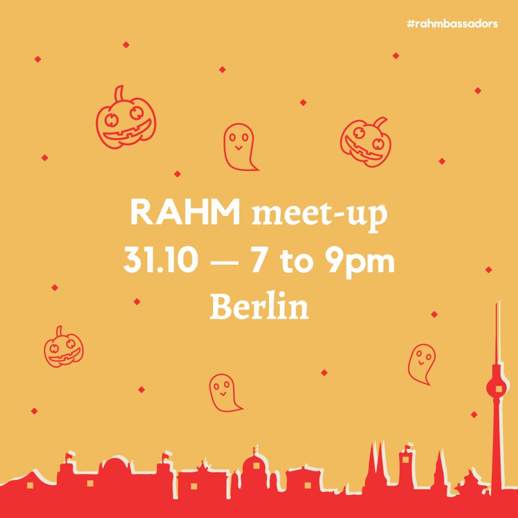 RAHM Meet-up in Berlin