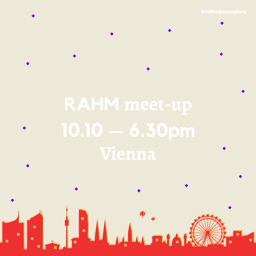 RAHM Meet-up in Vienna