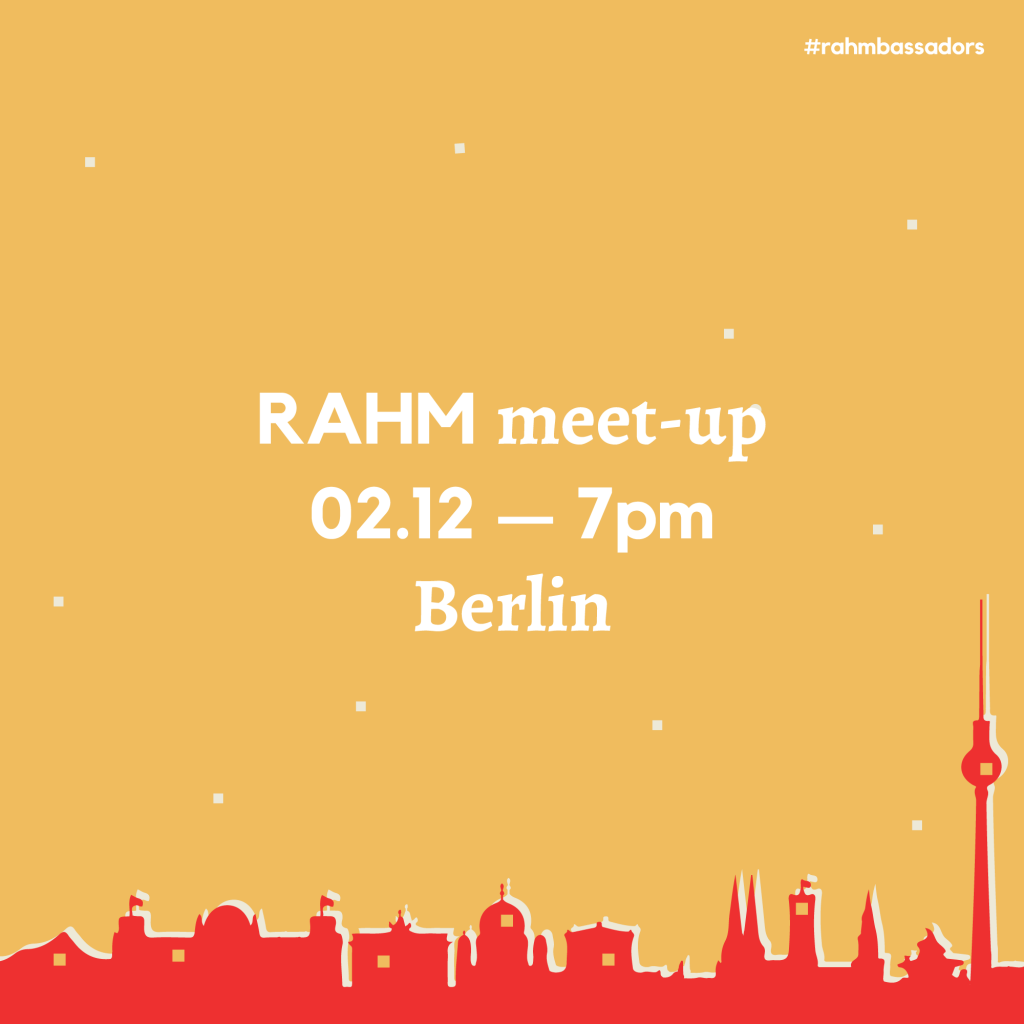 RAHM Meet-up in Berlin