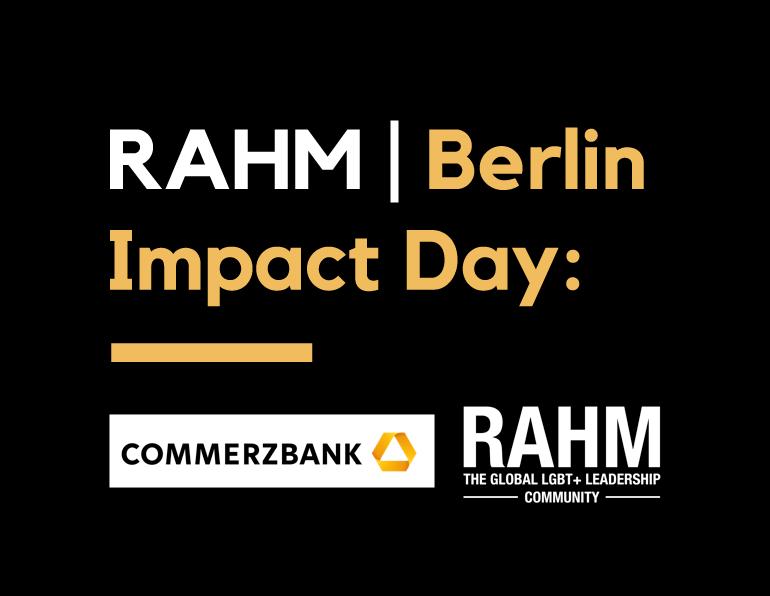 RAHM Impact Day 2020 | Berlin Edition