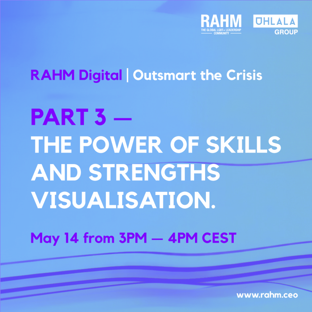 RD: Outsmart the Crisis, The Power of Skills and Strengths Visualisation