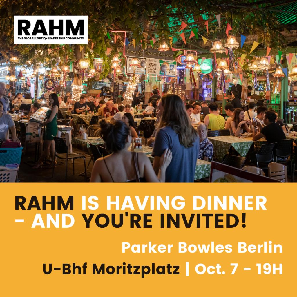 RAHM Community Dinner Meet-up